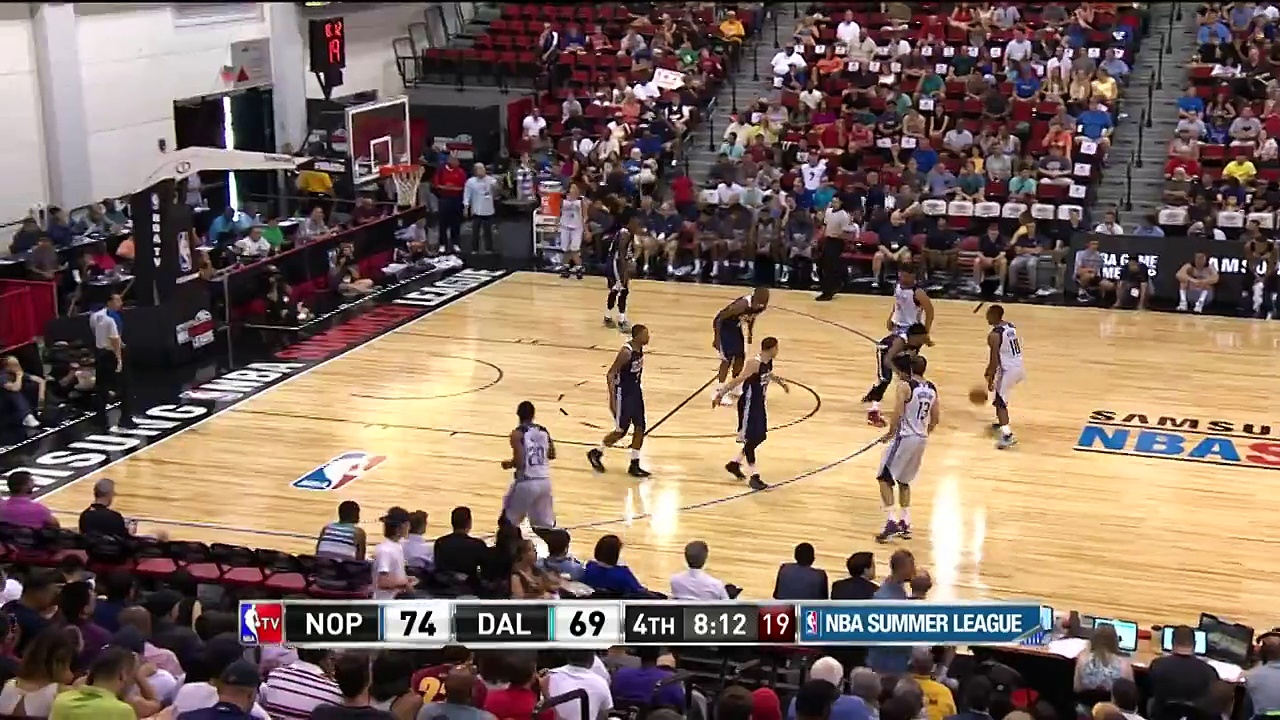 Satnam Singh Scores His First NBA Bucket and the Foul!