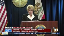 District Attorney releases surveillance video of Midway officer shooting