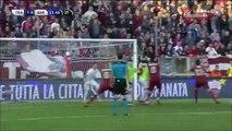 1-0 Pasquale Fazio Goal Italy  Serie B - 27.12.2015, Trapani Calcio 1-0 AS Bari