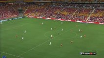Bruno Fornaroli Goal Australia  A-League  Regular Season - 27.12.2015, Brisbane Roar 2-1 Melbourne City
