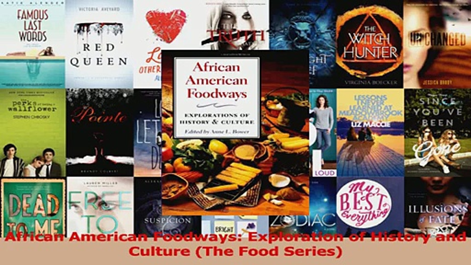 PDF Download  African American Foodways Exploration of History and Culture The Food Series Read Full