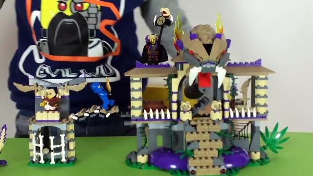 Lego Ninjago Masters of Spinjitzu New 2015 Lego Set Unboxing Opening Toys + Lego Egg + Kin