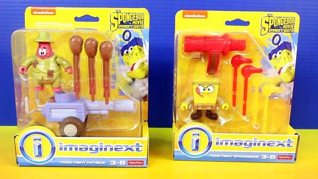 SpongeBob Movie Sponge Out Of Water Food Fight Patrick And SpongeBob SquarePants Nickelode