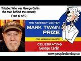 Who was George Carlin the man behind the comedy?  Pt 6 of 9