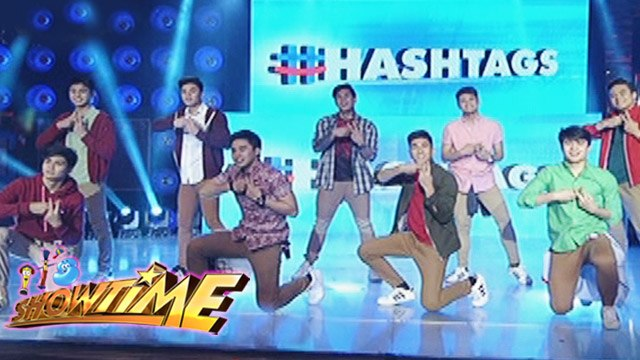 It's Showtime: Hashtags' Christmas performance