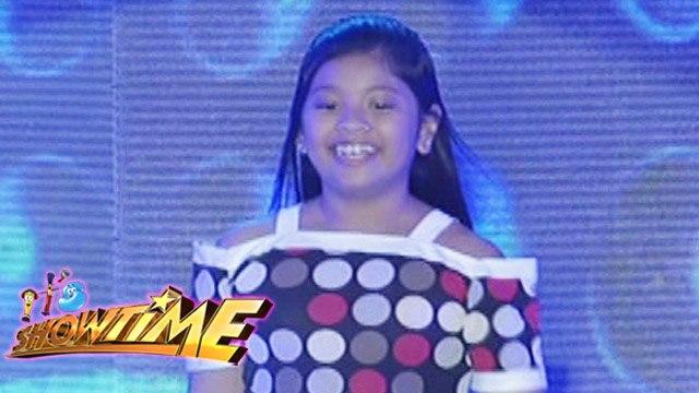 It's Showtime Singing Mo 'To: Elha Nympha sings 'Star ng Pasko'