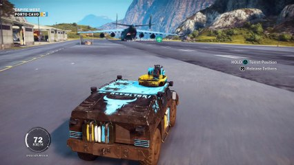 Fun with U41 PtakoJester fully loaded Just Cause 3 funny silly stuff