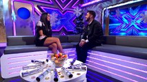 Andrea Faustinis Exit Chat | The Final | The Xtra Factor UK | The X Factor UK 2014