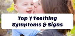Baby Teething Symptoms & Signs That You Should Be Aware Of