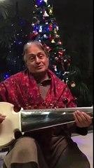 Amjad Ali Khan Classical Musician Performs 'Jingle Bells' on Sarod