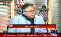 Hassan Nisar appreciates and praises Imran Khan's decision on protocol