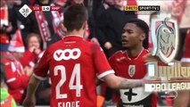 1-0 Beni Badibanga Goal Belgium  Jupiler Pro League - 27.12.2015, Standard Liège 1-0 Mouscron-Peruwelz