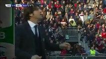2-0 Diego Farias Goal Italy  Serie B - 27.12.2015, Cagliari Calcio 2-0 FC Pro Vercelli