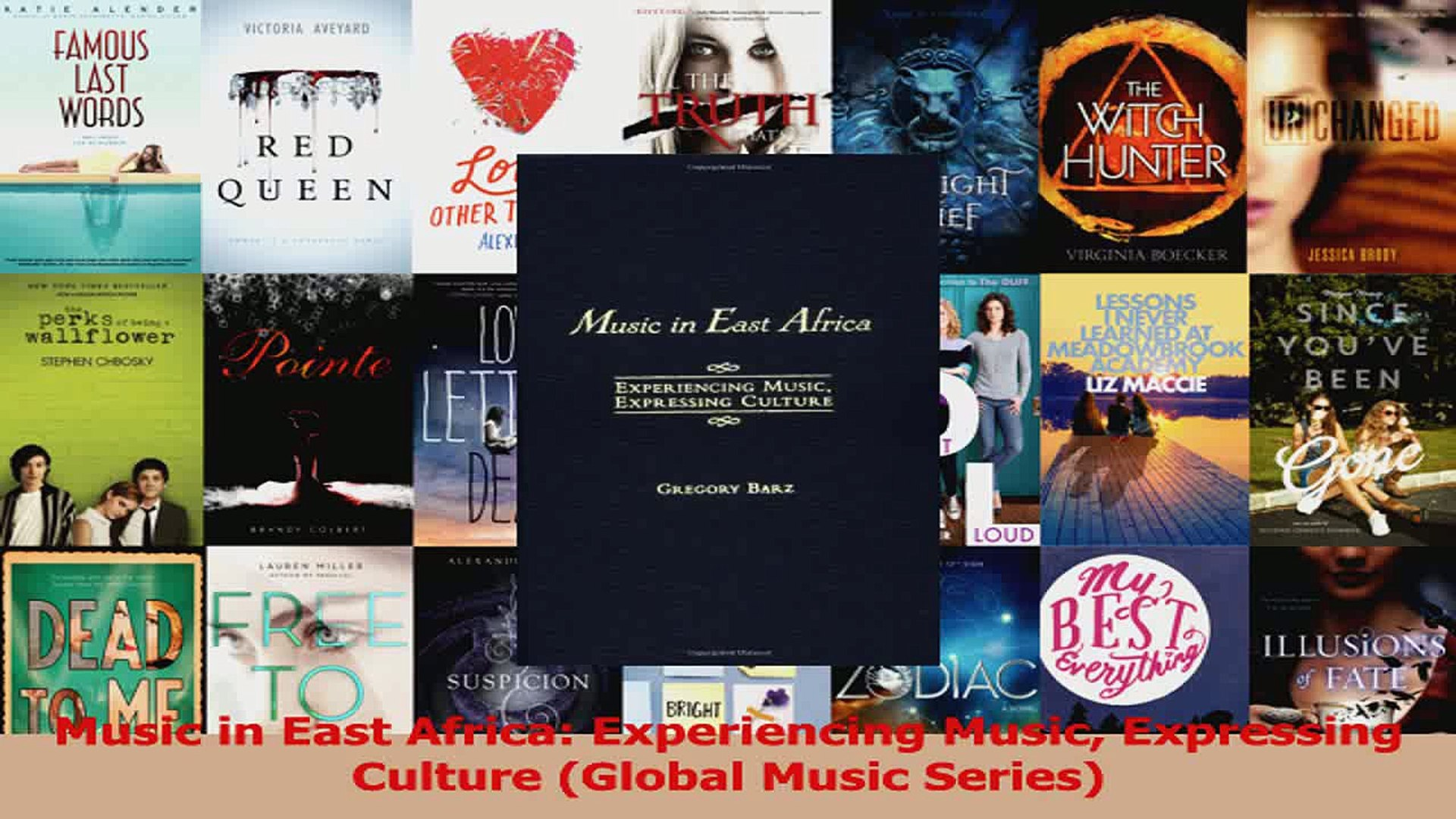 PDF Download  Music in East Africa Experiencing Music Expressing Culture Global Music Series PDF Ful