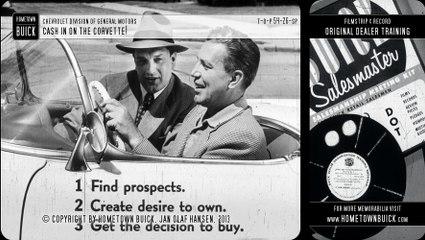 1954 Chevrolet Corvette - Cash In on the Corvette