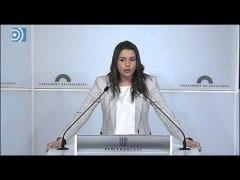 Ines Arrimadas califica la asamblea de la CUP de nuevo capii