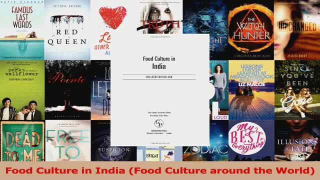 PDF Download  Food Culture in India Food Culture around the World Download Online