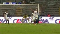 Simone Ganz Penalty Goal Italy  Serie B - 27.12.2015, Calcio Como 2-1 Salernitana