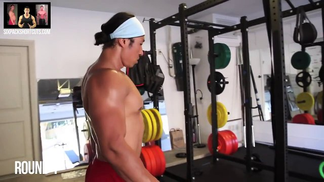 Get A Shredded Back Now With These Four Moves - Mikes Home Gym Workout
