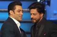 Shahrukh Khan Wishing Salman Khan On His 50th Birthday