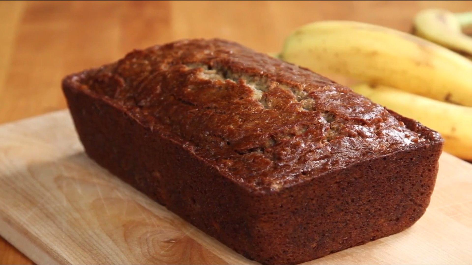 Banana Bread Recipes Tutorial - New Year Cooking