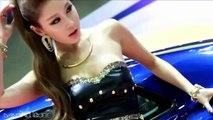 Hot Japanese Car Show Girl - Beautiful Asian Model With Long Legs
