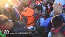 Migrants : nous avons retrouvé le Syrien avec qui nous avions traversé la mer Egée sur un canot de fortune