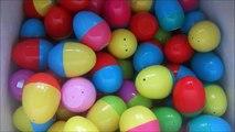 32 surprise eggs SpongeBob Smurfs Peppa Pig Moshi Monsters Thomas