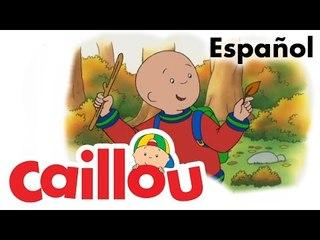 Caillou ESPAÑOL - La valija de Caillou  (S02E18)