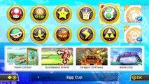 Mario Kart 8: DLC 150cc #9 / Jogando com Link / Triforce Cup / Novas Pistas!! [WiiU]