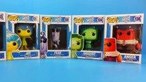 toys Inside Out Funko Pop Toys Disgust Joy Sadness Anger & Fear inside out toys