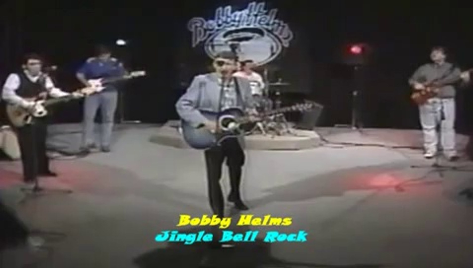 BOBBY HELMS JINGLE BELL ROCK VIDEO CLIP LIVE