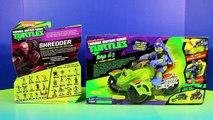 Nickelodeon Teenage Mutant Ninja Turtles TMNT Leonardo Ninja AT-3 Vs. Shredder & Removable