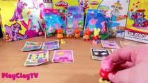 Peppa pig George and friends funny toys unboxing toys Свинка пеппа игрушки распаковка Play