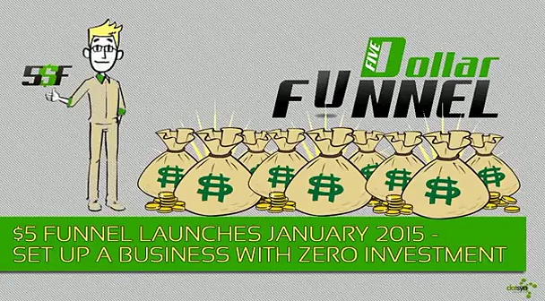 Five Dollar Funnel – New Exciting Way To Earn Money Online-SD