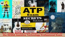PDF Download  ATP Exam Secrets Study Guide ATP Test Review for the RESNA Assistive Technology PDF Online