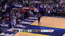 Jeff Green Chasedown Block on Nick Young