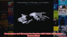 Counseling and Therapy for Couples SW 393R 15Couples Counseling