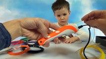 3D ручка для творчества делаем игрушки машинки из пластика 3D Pen make plastic cars