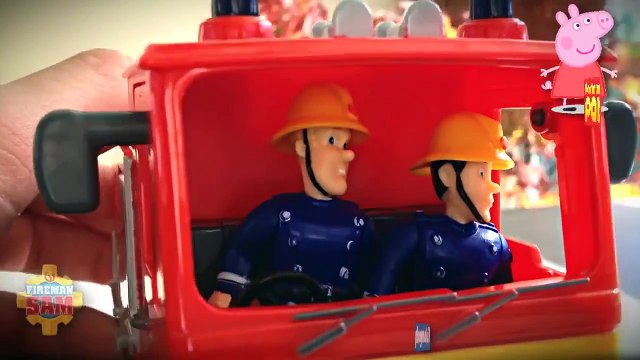 Toy (Interest) New Fireman Sam Episode with Toys Playset Postman Pat Peppa Pig English 2015