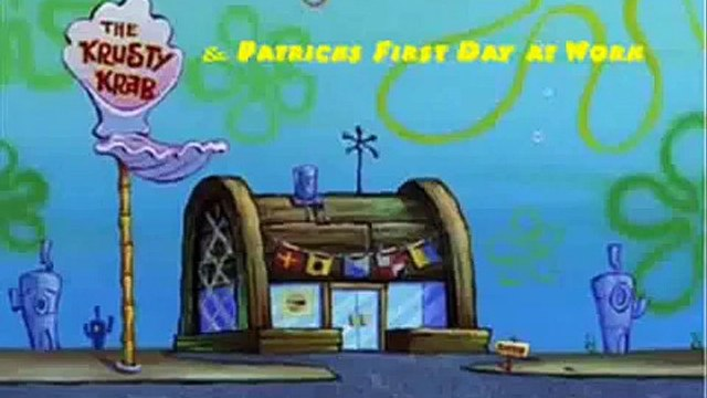 Spongebob Squarepants - Patricks First Day At Work