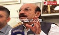 Sindh Chief Minister, Syed Qaim Ali Shah