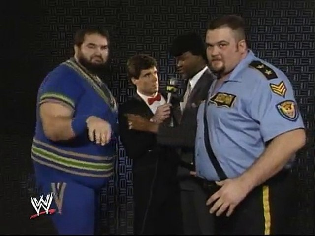 WWF Royal Rumble 1989 - The Twin Towers Interview