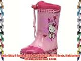 Hello Kitty G Rainboots Boots HK000258 Girls Boots Multicolour (254 Dfux/Pnk/Fux) 8.5 UK