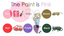 """""""The Paint is Pink"""" (HD) Babies Learn Colors, Teaching Toddlers Colours, Kids Learning Nursery Song"""