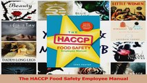 PDF Download  The HACCP Food Safety Employee Manual PDF Online