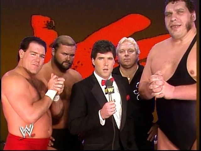WWF Royal Rumble 1989 - The Heenan Family Interview