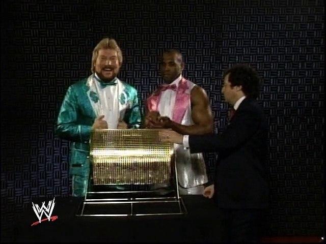 WWF Royal Rumble 1989 - Superstars Pick Their Numbers