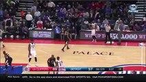 Andre Drummond Drops Chris Paul | Clippers vs Pistons | December 14, 2015 | NBA 2015-16 Season