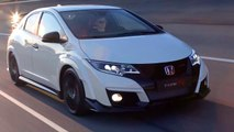 Honda Civic Type R 310 hp on track